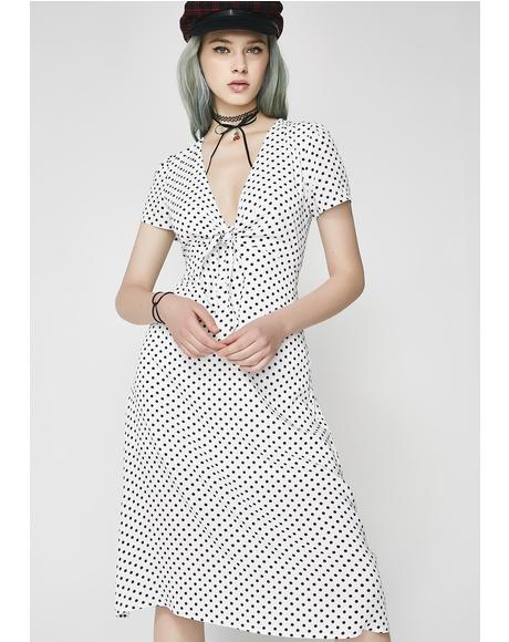 Let'z Stroll Midi Dress