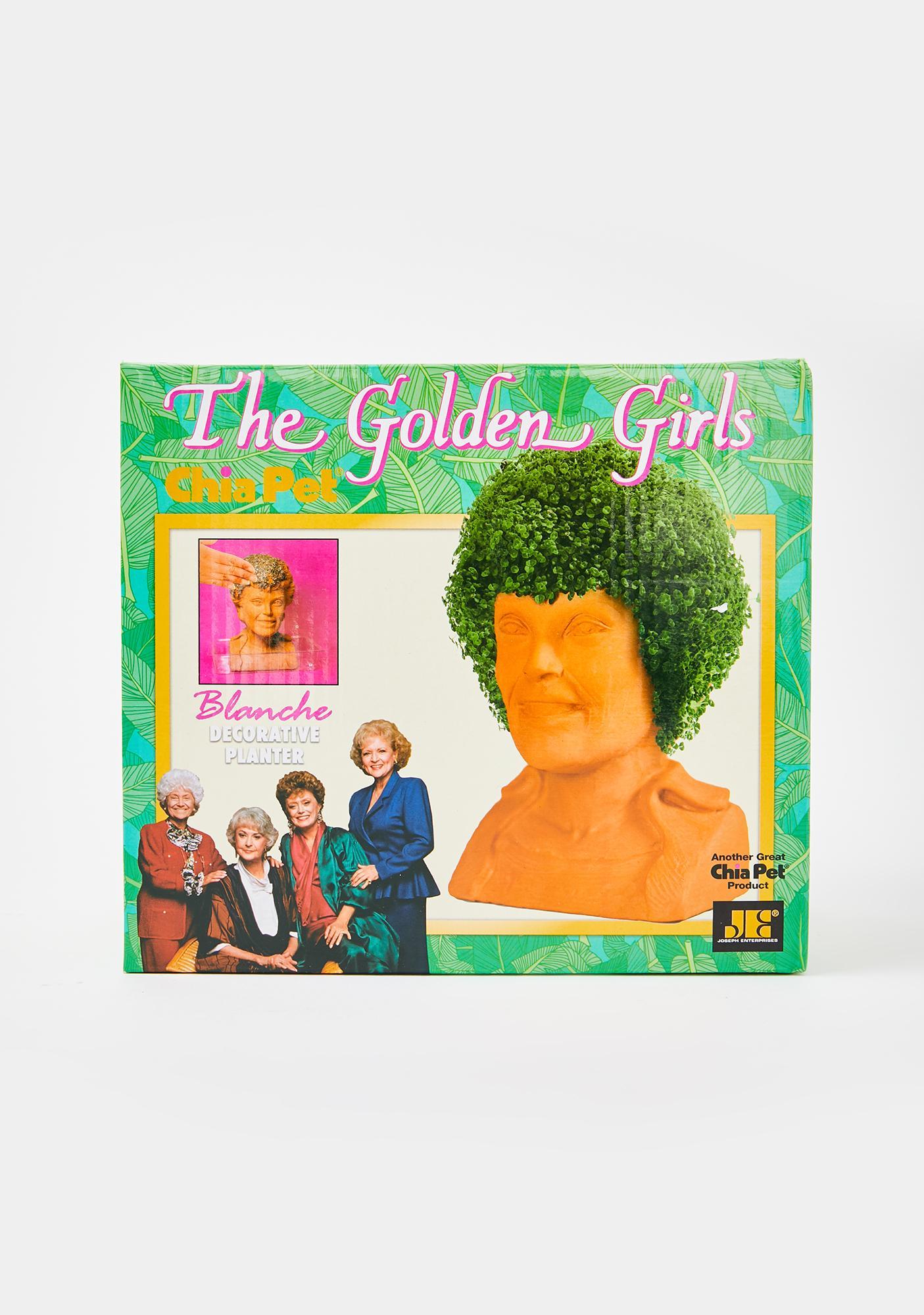 Chia Pet Golden Girls Blanche Planter