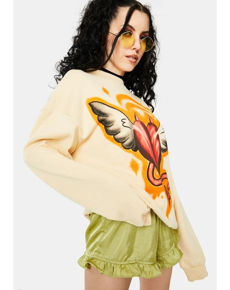 Devil Angel Sweatshirt