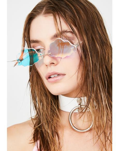 Cotton Candy Cloud Sunglasses
