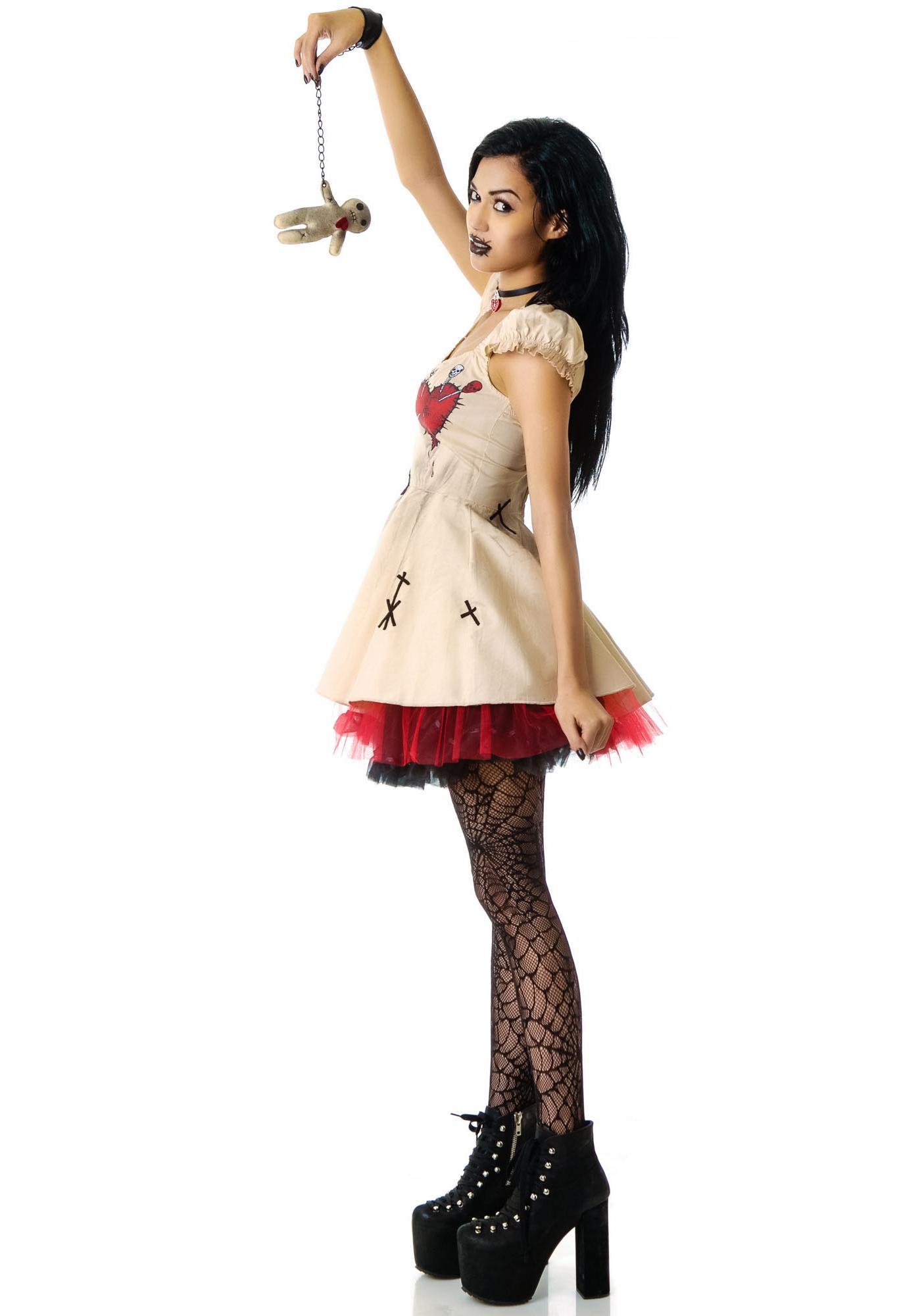black voodoo doll costume - photo #8