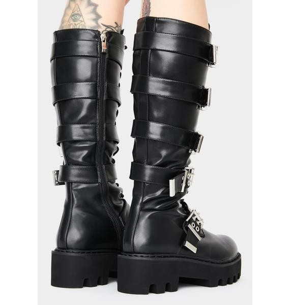 Lamoda Lockdown Knee High Boots