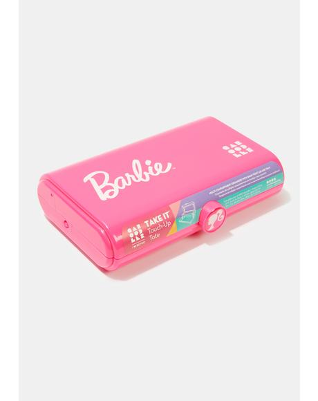 Hot Pink Take It Barbie Toolbox