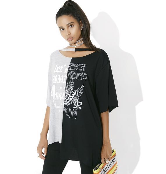 Sound Splitter Graphic T-Shirt