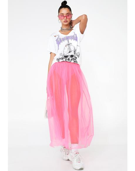 Sweet Vicious Vapor Tulle Skirt