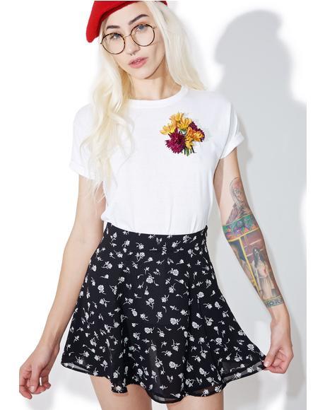 Floral Swing Set Skirt