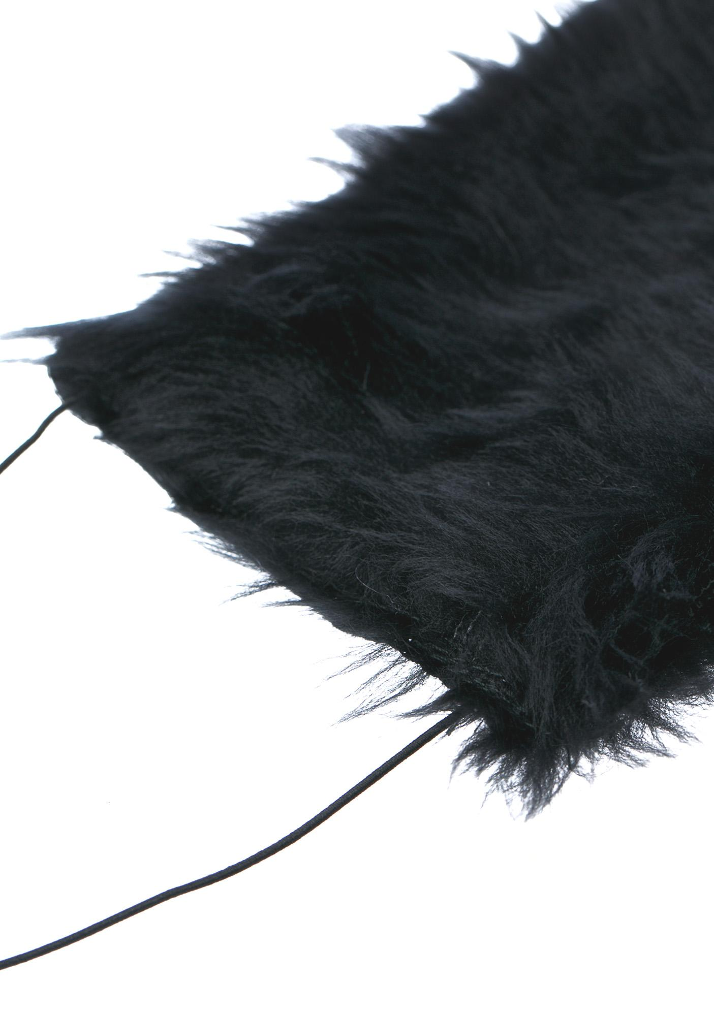 Pht Furry Dark Wave Face Mask