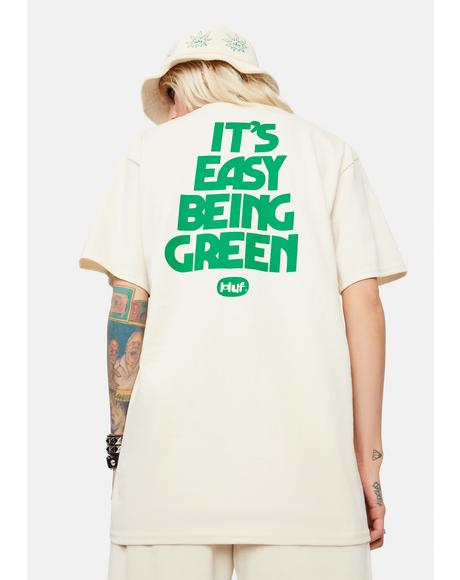 Easy Green Graphic Tee