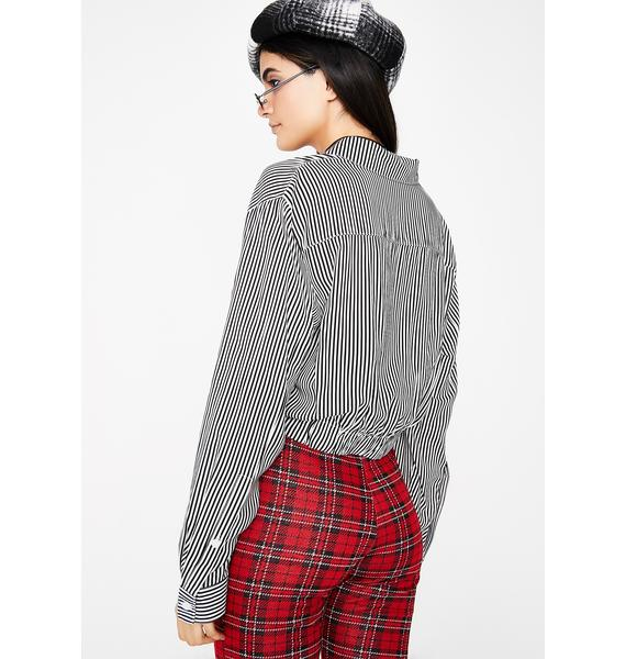 Always On Time Stripe Top