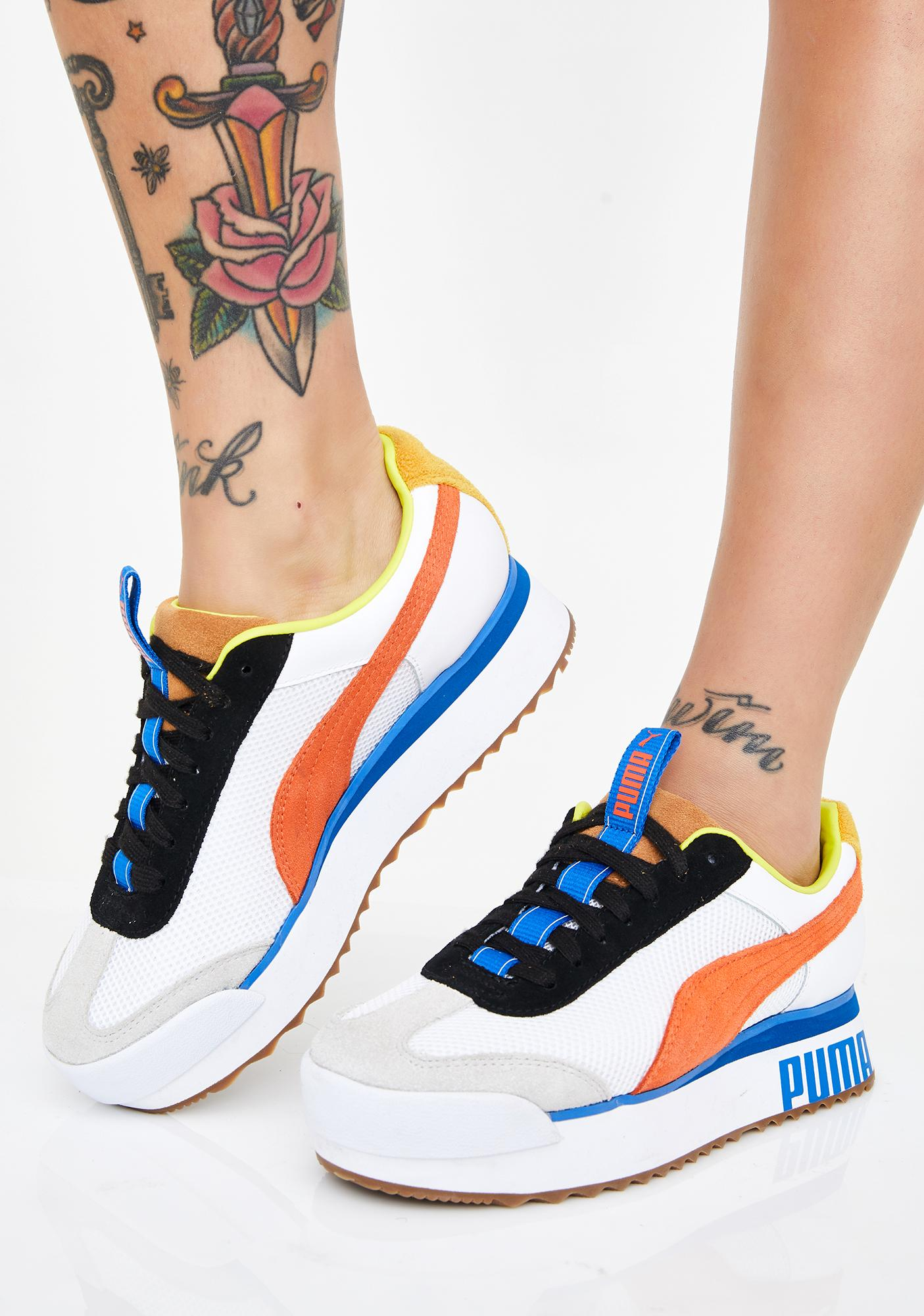 PUMA Roma Amor Sport Sneakers | Dolls Kill