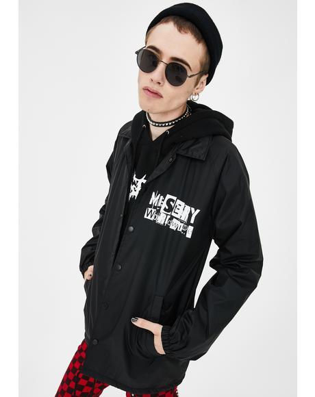 Punk AF Coach Jacket