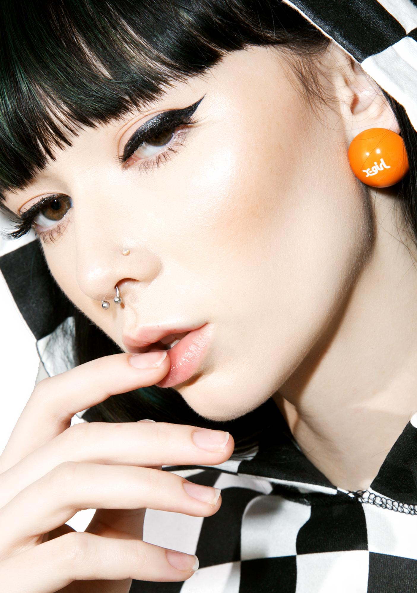 x-Girl Ball Post Earrings