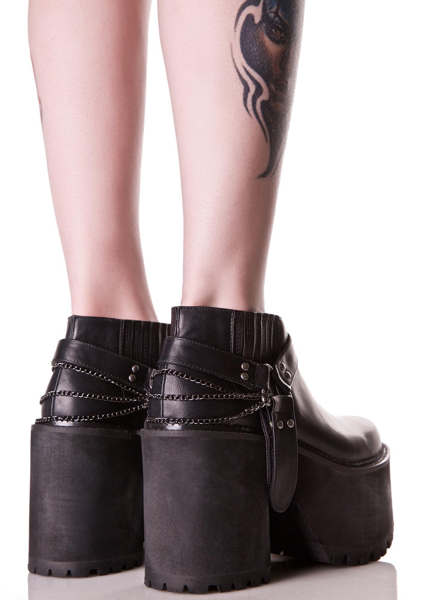 Y.R.U. Siista Chunky Platform Boots