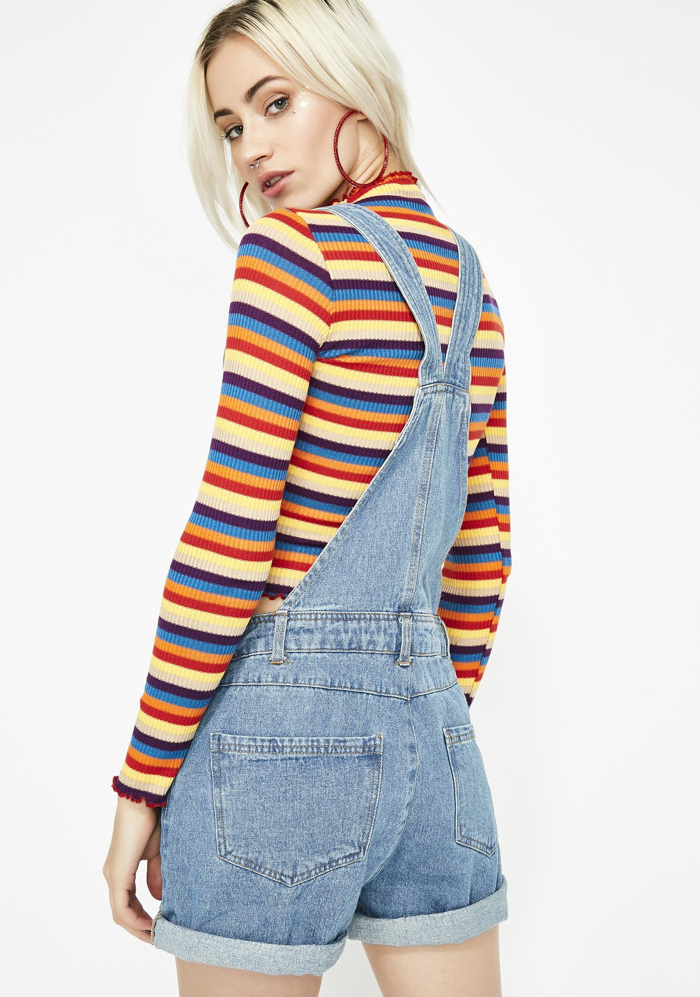 Babe Next Door Denim Overalls