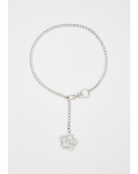 Romance Relic Rose Necklace