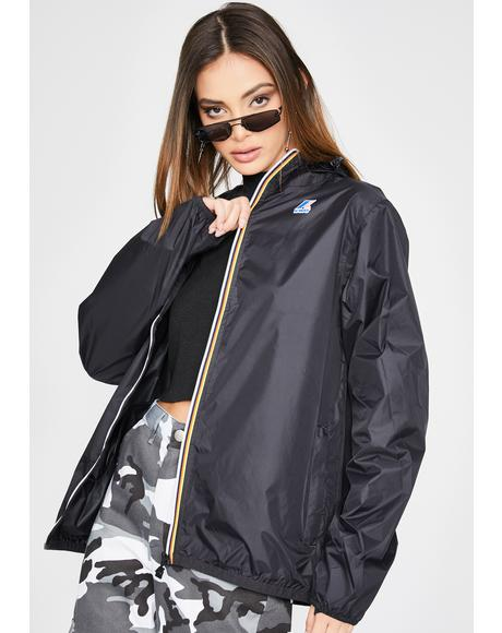 Black Le Vrai Claude 3.0 Windbreaker Jacket