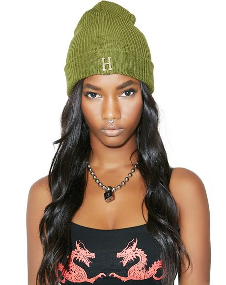 Brass Military Beanie