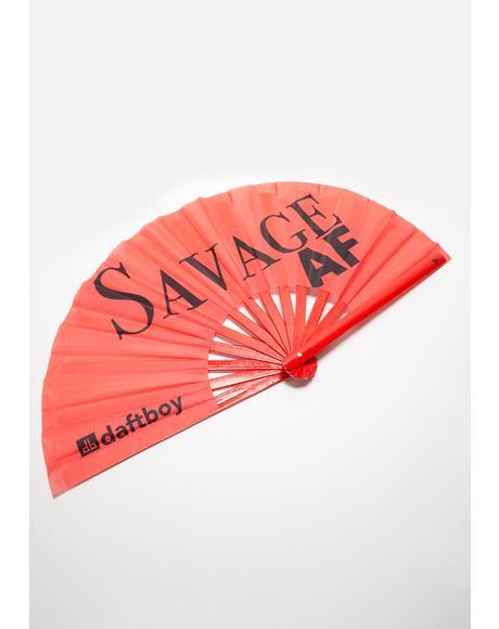 Savage AF Fan