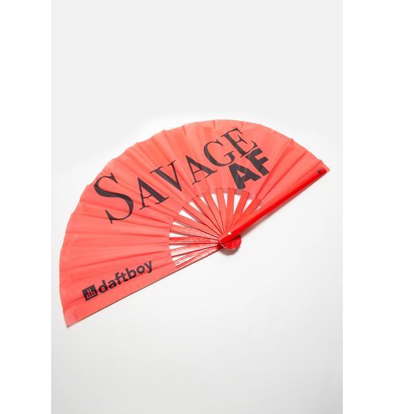 Daft Boy Savage AF Fan