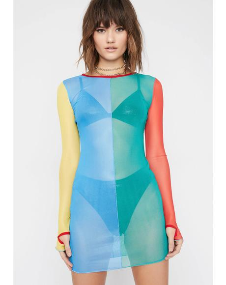 6048a779444d Primary Instincts Colorblock Dress ...