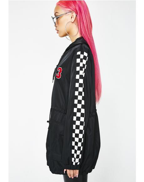 Speed Addiction Checkered Jacket