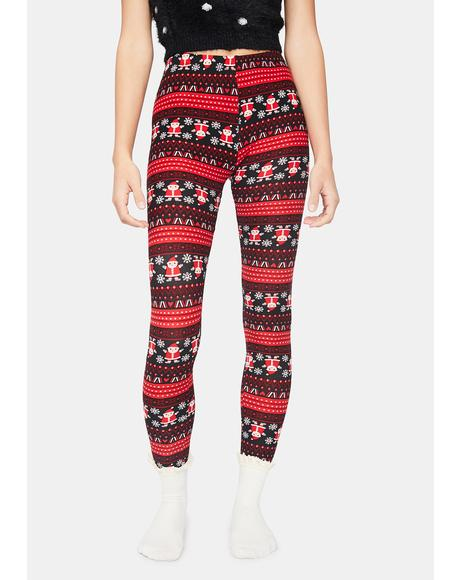 Sassy Santa Holiday Leggings
