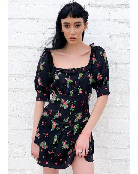Wilson Print Mini Dress