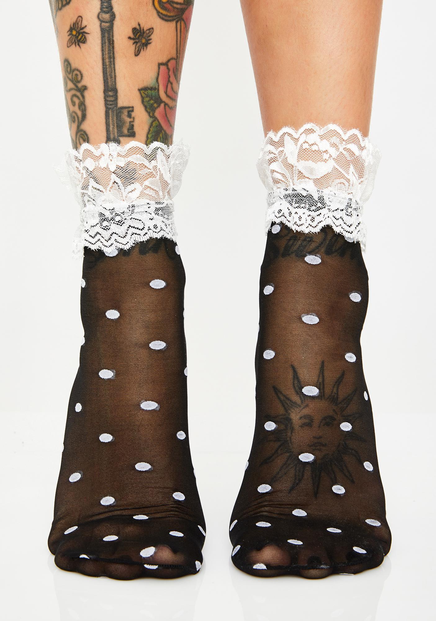 Angel Pampered Life Sheer Socks