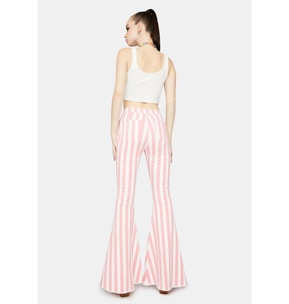 That 70s Flow Striped Flares