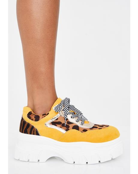 Wild Insta Pop Platform Sneakers