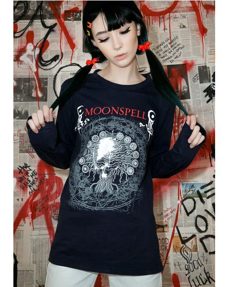 Vintage Moonspell Long Sleeve Tour Tee