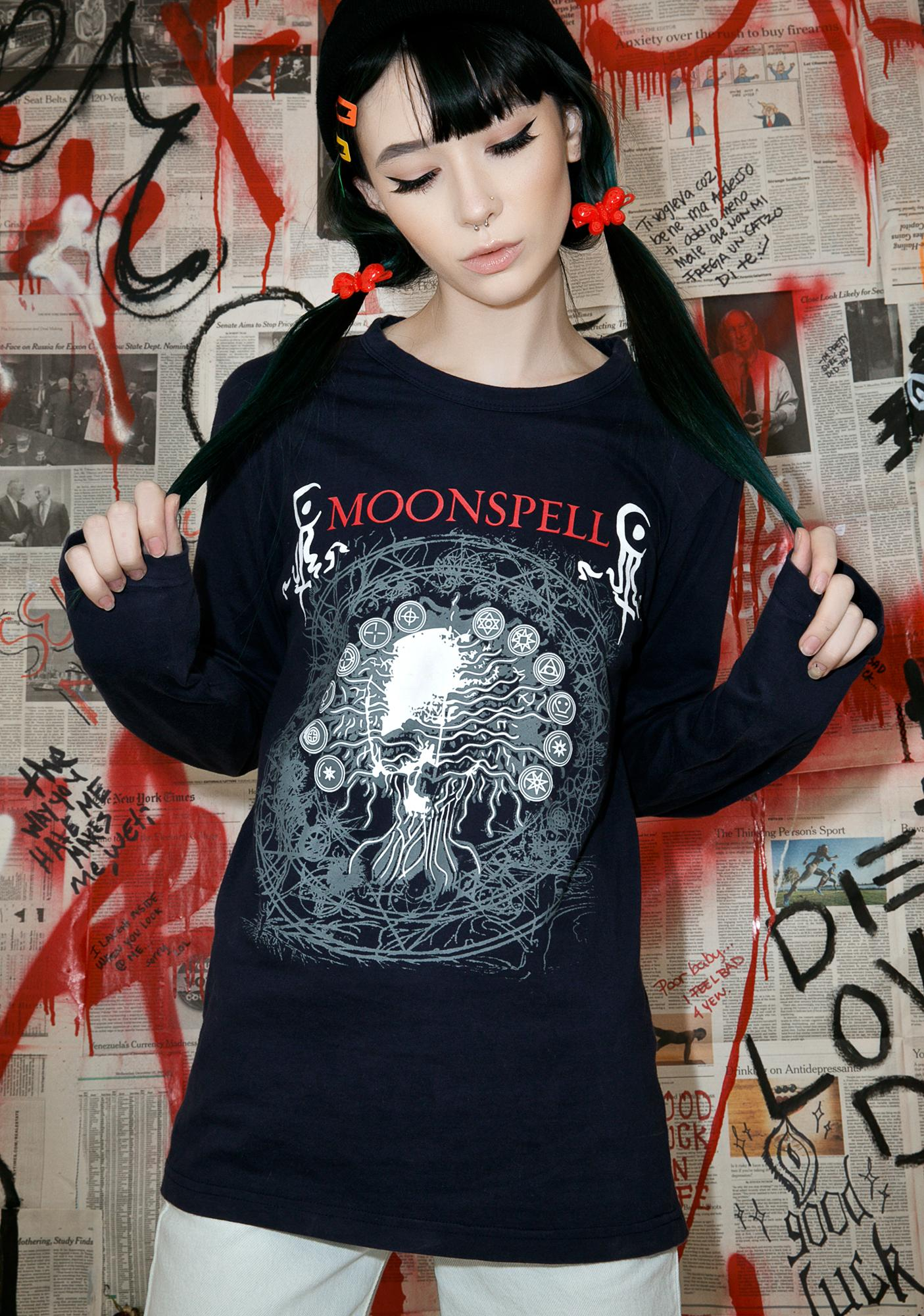 Vintage Moonspell Long Sleeve Tour Tee