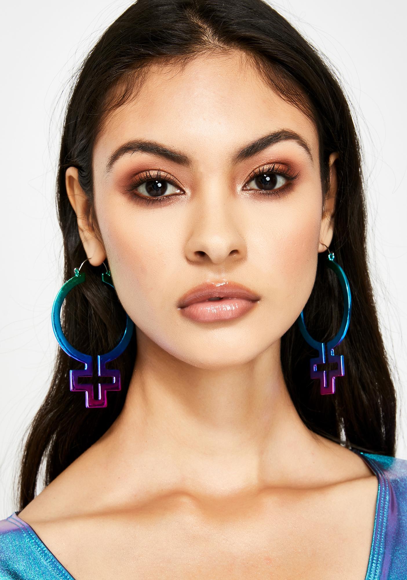 Empress Of Me Hoop Earrings