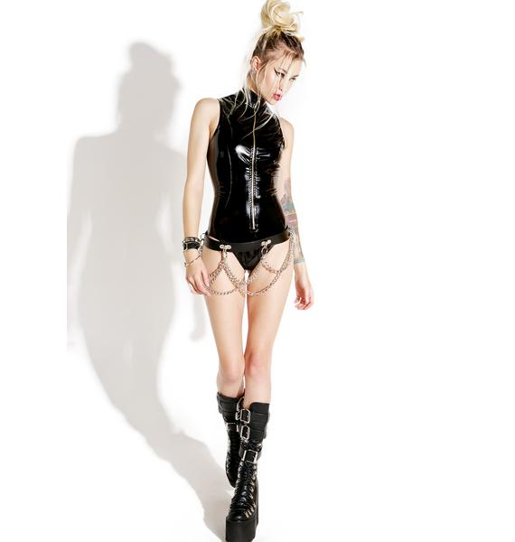 Treacherous Wetlook Bodysuit