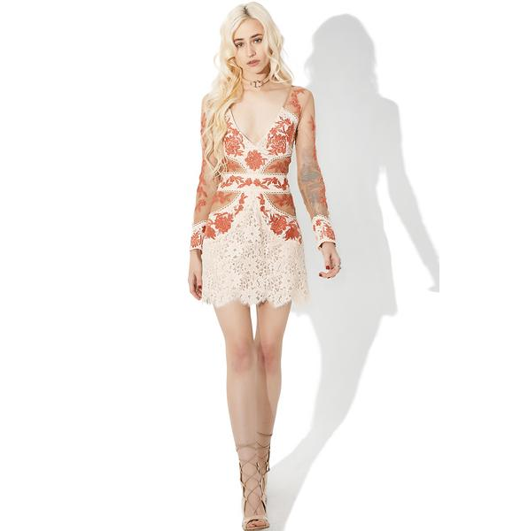 For Love & Lemons Mallorca Tulle Dress