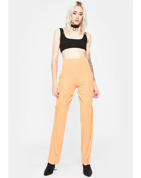 Tangerine Undercover Heaux High Waisted Pants