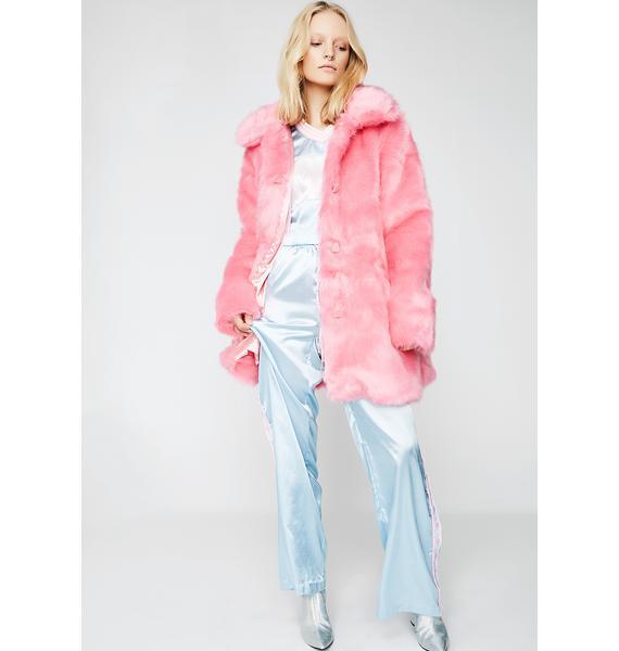 Lazy Oaf Fur Bear Coat