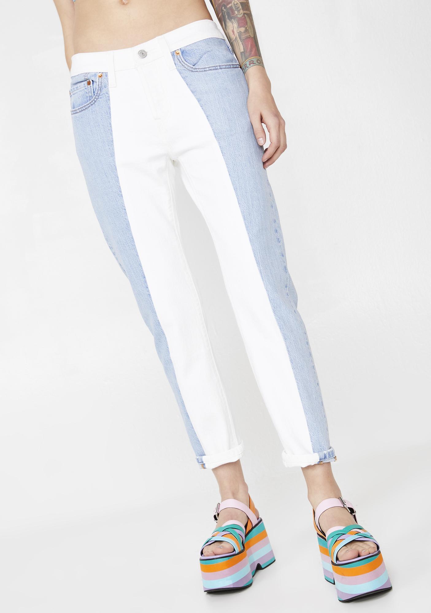 58bb1f9d Levis 501 Cropped Taper Jeans | Dolls Kill