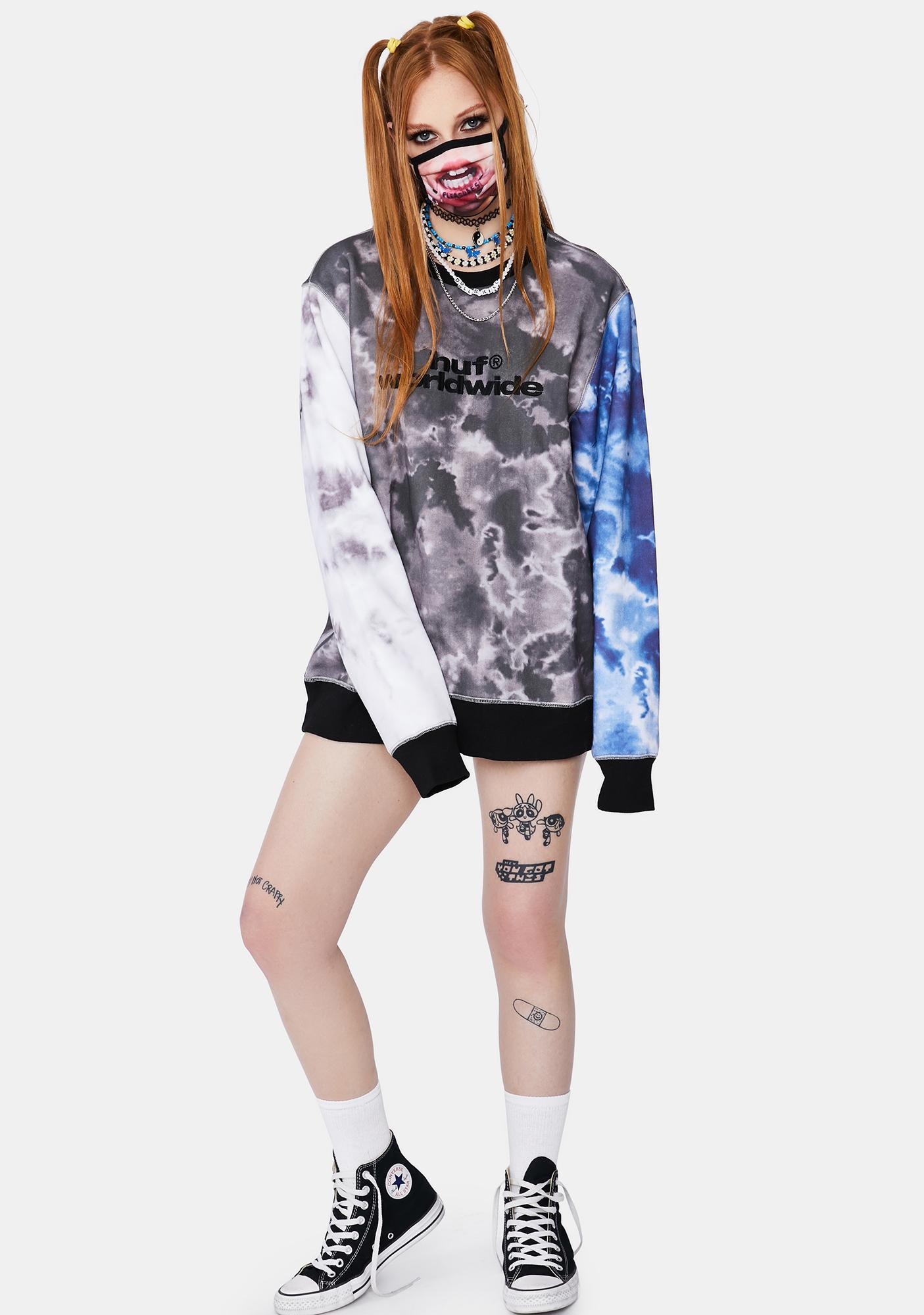 HUF Euphoria Crewneck Sweatshirt
