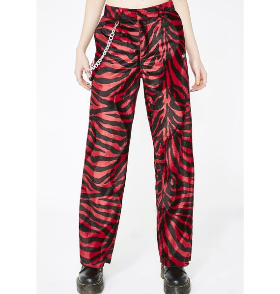 O Mighty Spicy Zebra Chain Pant