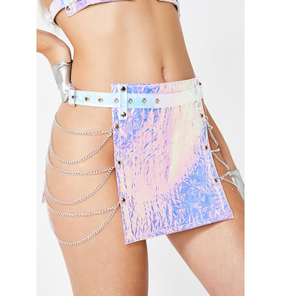 TheGLOWSTROBE Amazon Chain Skirt