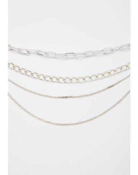 Trouble 101 Chain Necklace