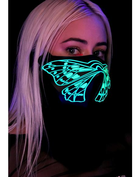 Crazy Town Sound Reactive Dust Mask