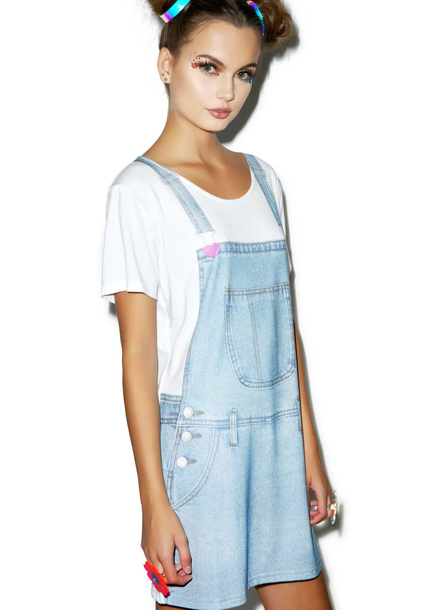 Local Heroes Denim Tee Dress