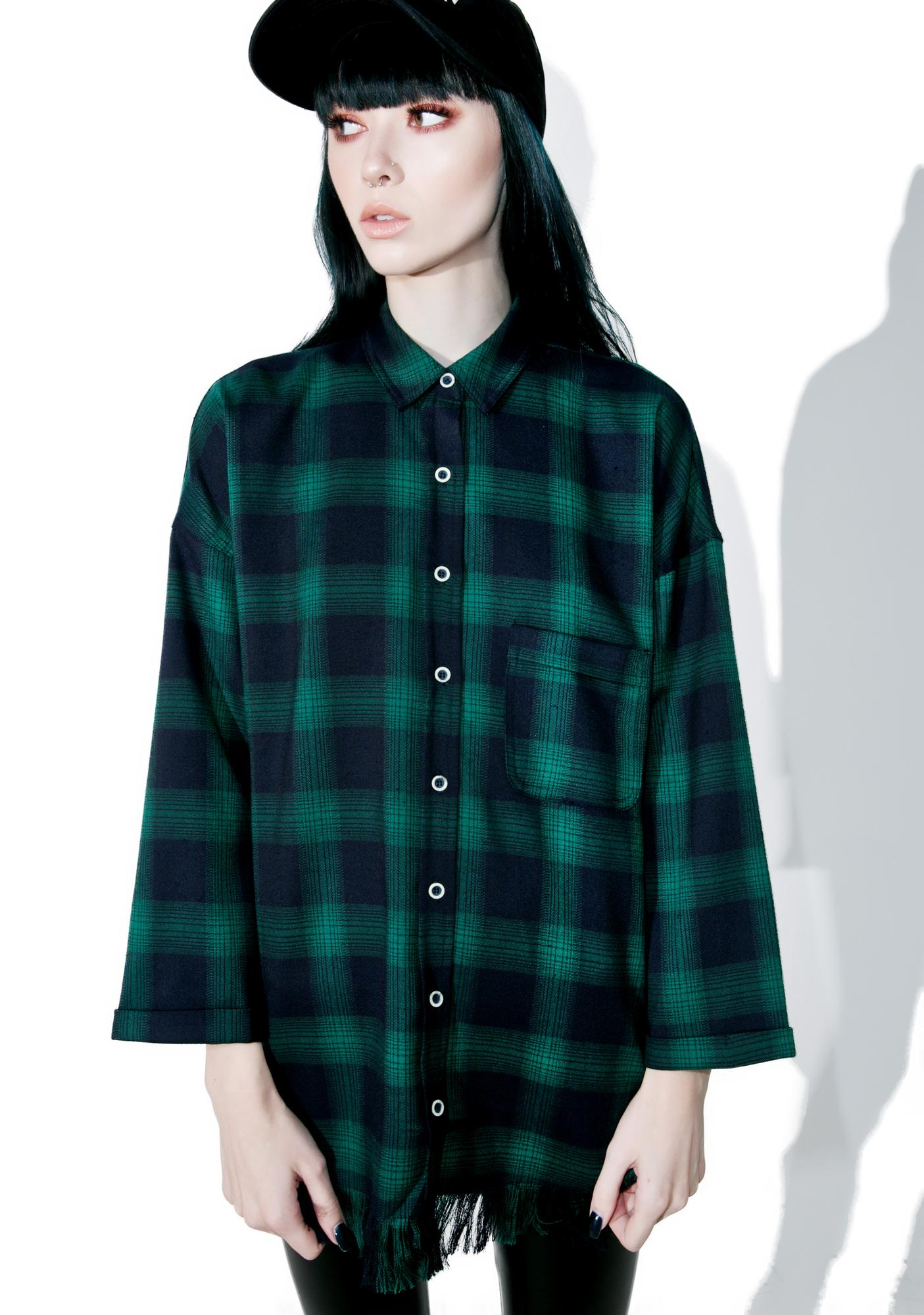 Evergreen Plaid Shirt