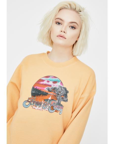 Zane Crewneck Pullover Sweatshirt