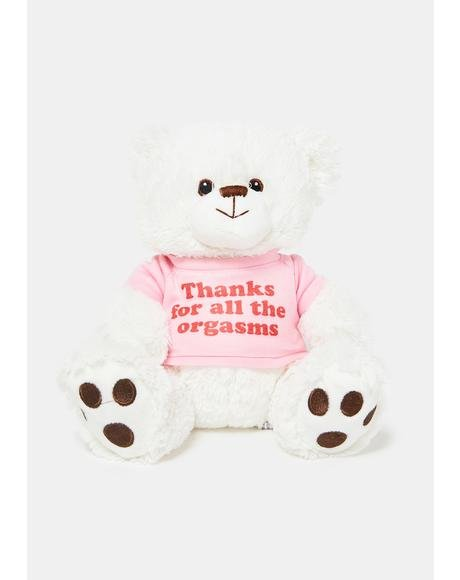 Thanks For The Orgasms Bear