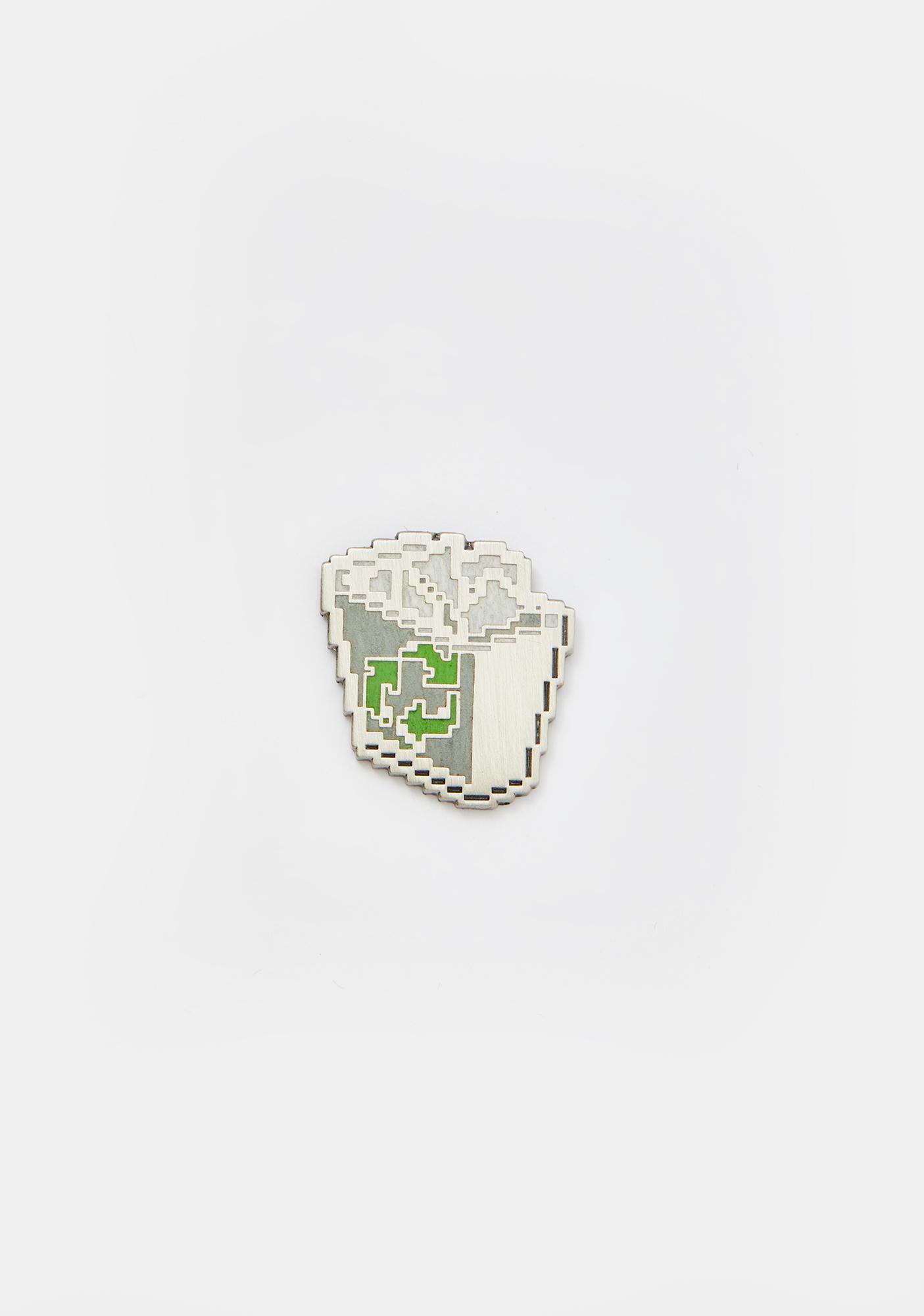 Studio Cult Recycling Bin Enamel Pin