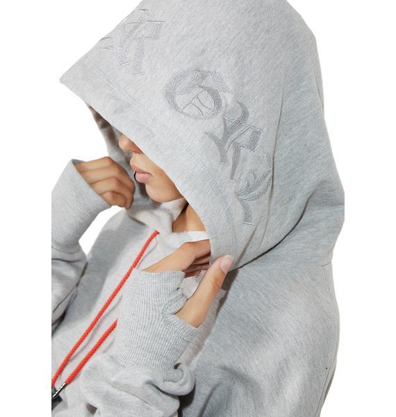 Poster Grl Self-Made Slayr Cropped Hoodie