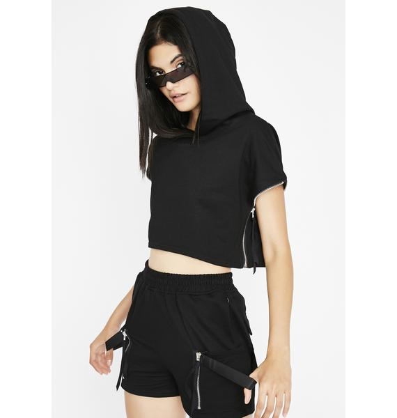 Mouth Zipped Co-Ord Set